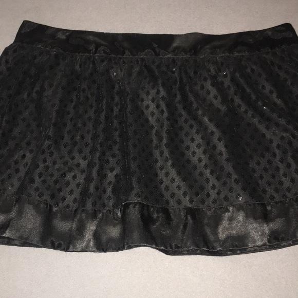 Wet Seal Dresses & Skirts - Sequenced / Satin Mini skirt